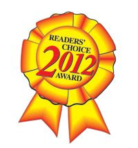 Readers Choice 2012 Award